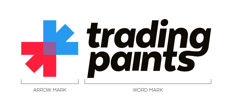 Trading Paints logo guide