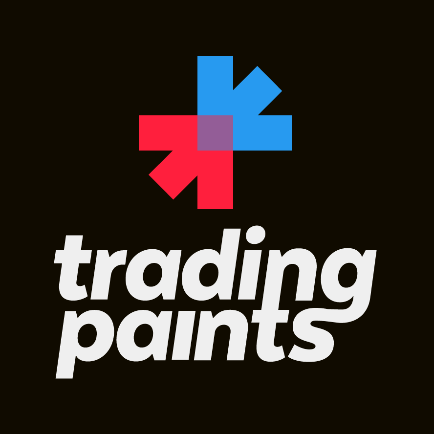 Trading Paints logo stacked