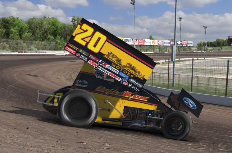 Eddie Motors Sprint car 2. Dirt Sprint Cars by Aaron Davidson