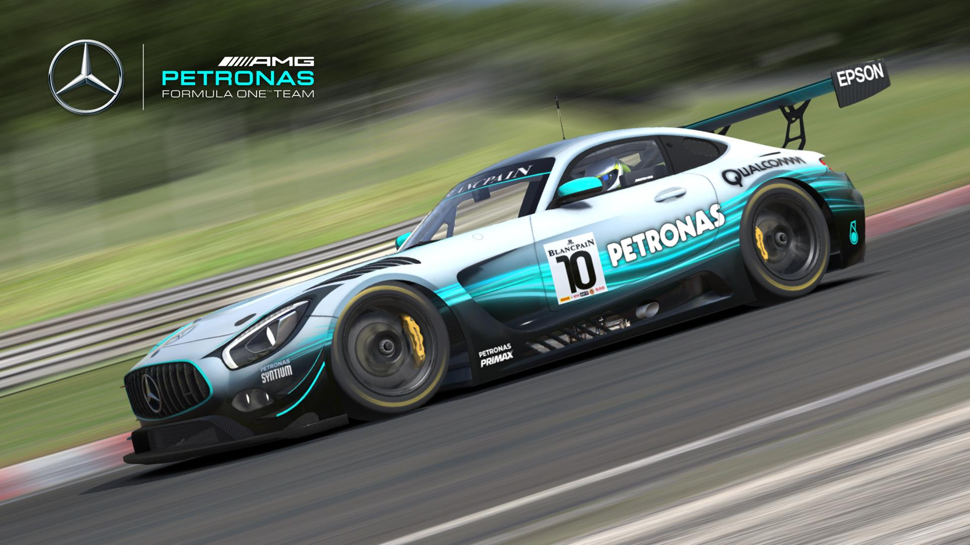 Preview of Mercedes AMG F1 W08 EQ Power+ by Justin S Davis