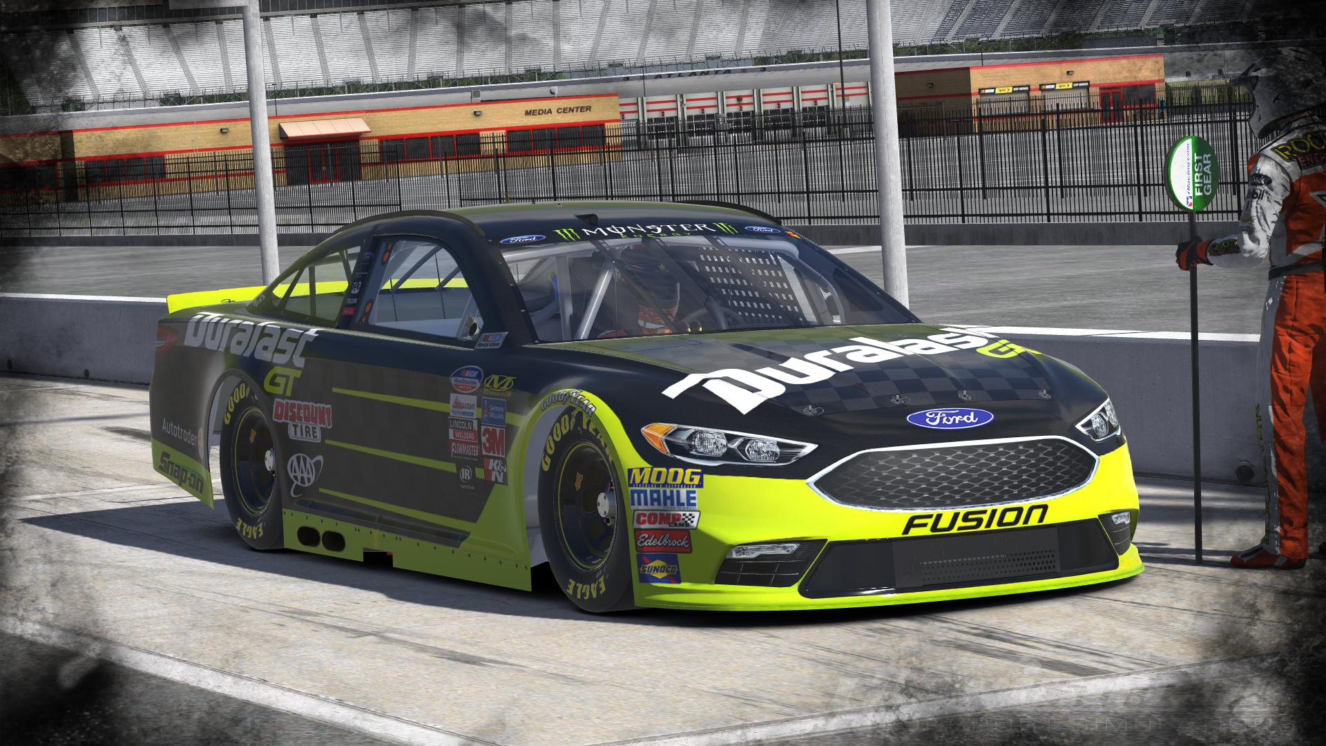 Cup  Joey Logano Duralast Gt  Nascar Monster Energy Cup Ford Fusion By Udo Washeim