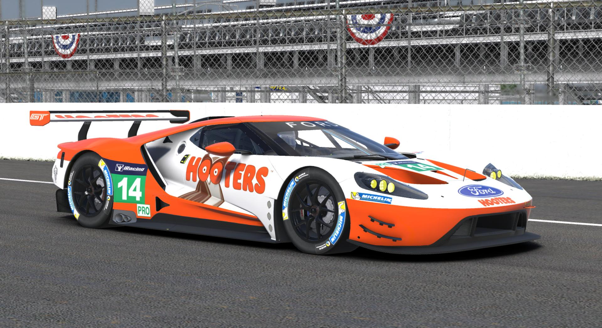 Hooters Ford Gt Gte Ford Gt  By Jason M Stewart