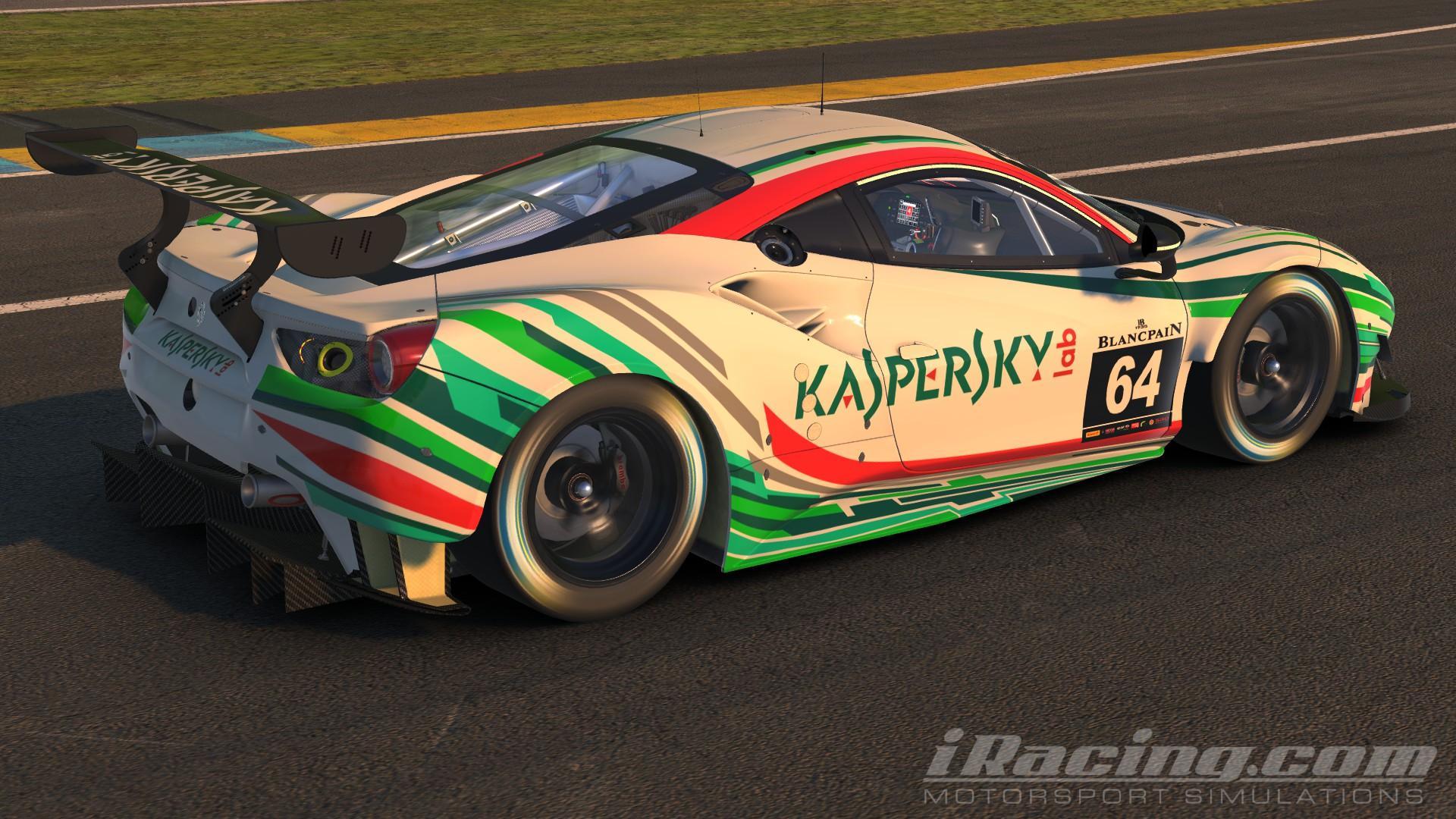 Preview of Kaspersky Motorsports 488 GTE by Dennis Gerressen