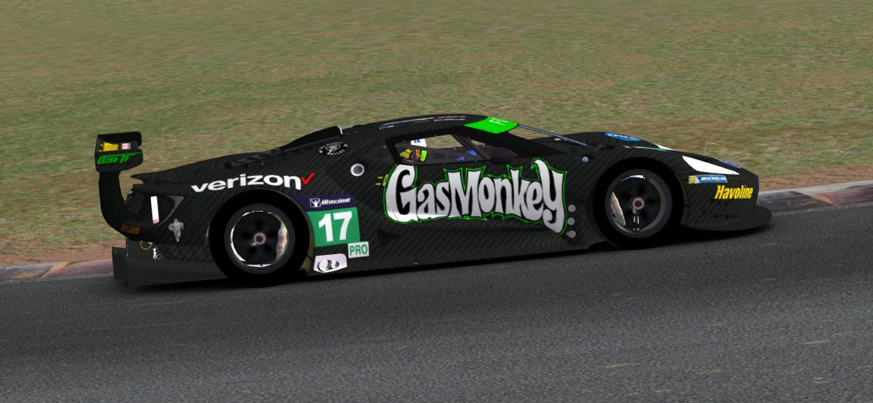 Gas Monkey Carbon Fiber Ford Gt  Ford Gt  By Dean R R