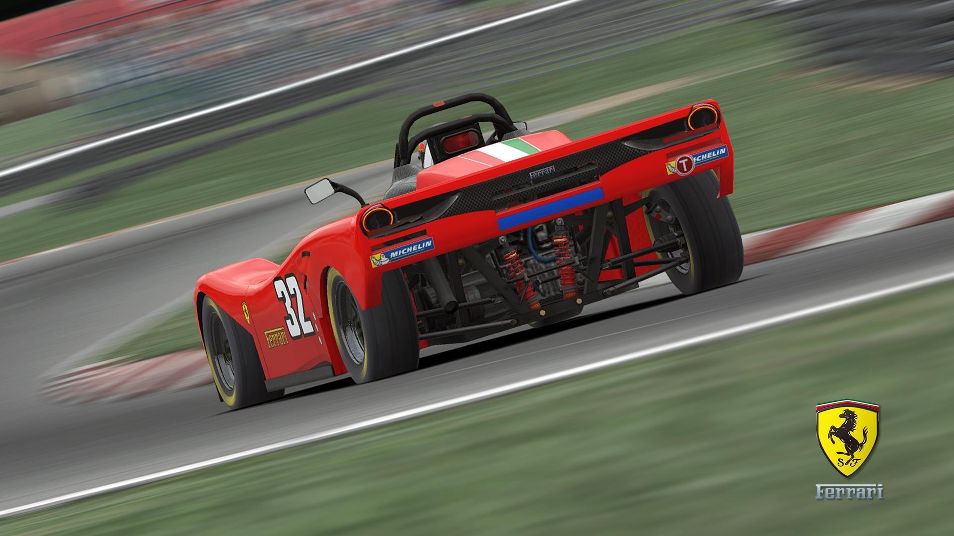 Preview of Spec Racer Ferrari (Fictional) by Justin S Davis