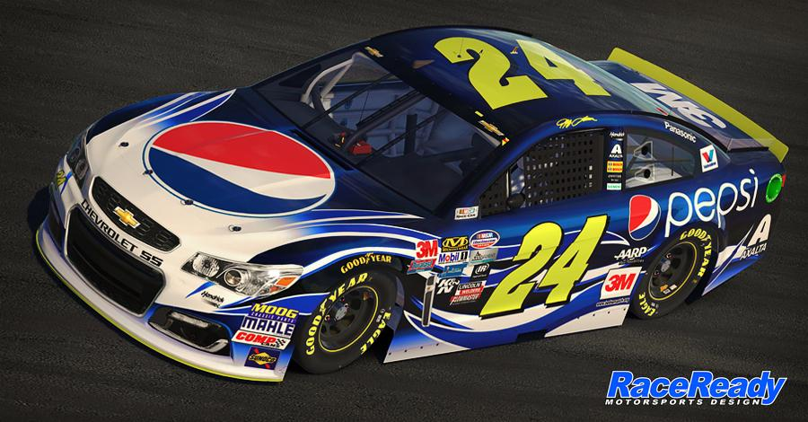 Preview of #24 Pepsi Chevy SS ( White ) by James Collins