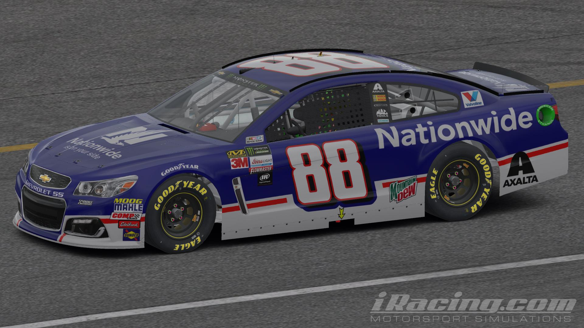 Preview of Nationwide Insurance Official 2017 Throwback by Scott Pierchorowicz