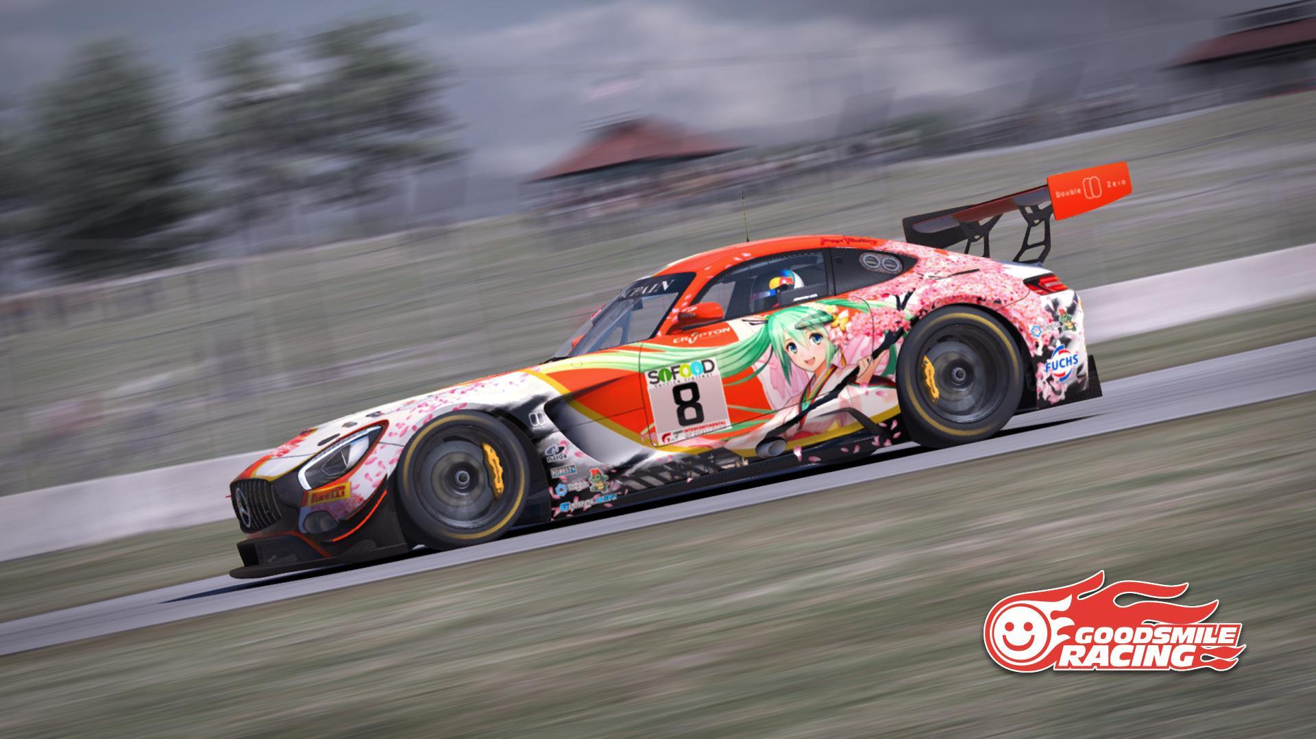 #00 GoodSmile Racing & Team Ukyo Mercedes AMG GT3 (2017 ...