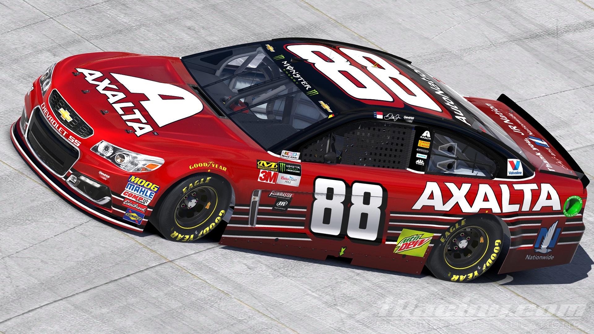 Preview of 2017 Dale Earnhardt Jr - Axalta | Homestead  by Justin Rowden