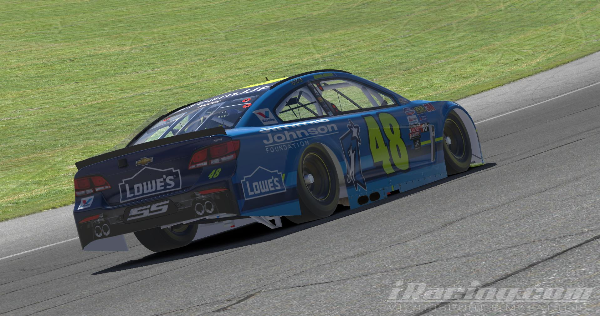 Preview of 2017 Lowes/Jimmie Johnson Foundation Chevy SS by Chandler Krizek