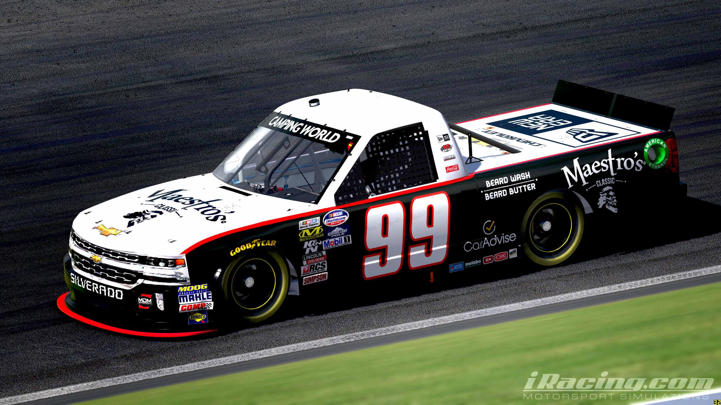 Preview of Bubba Wallace 99 by Tyler King