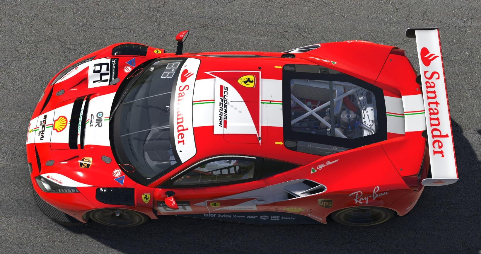 Preview of Ferrari 488 GT3 by John Paquin