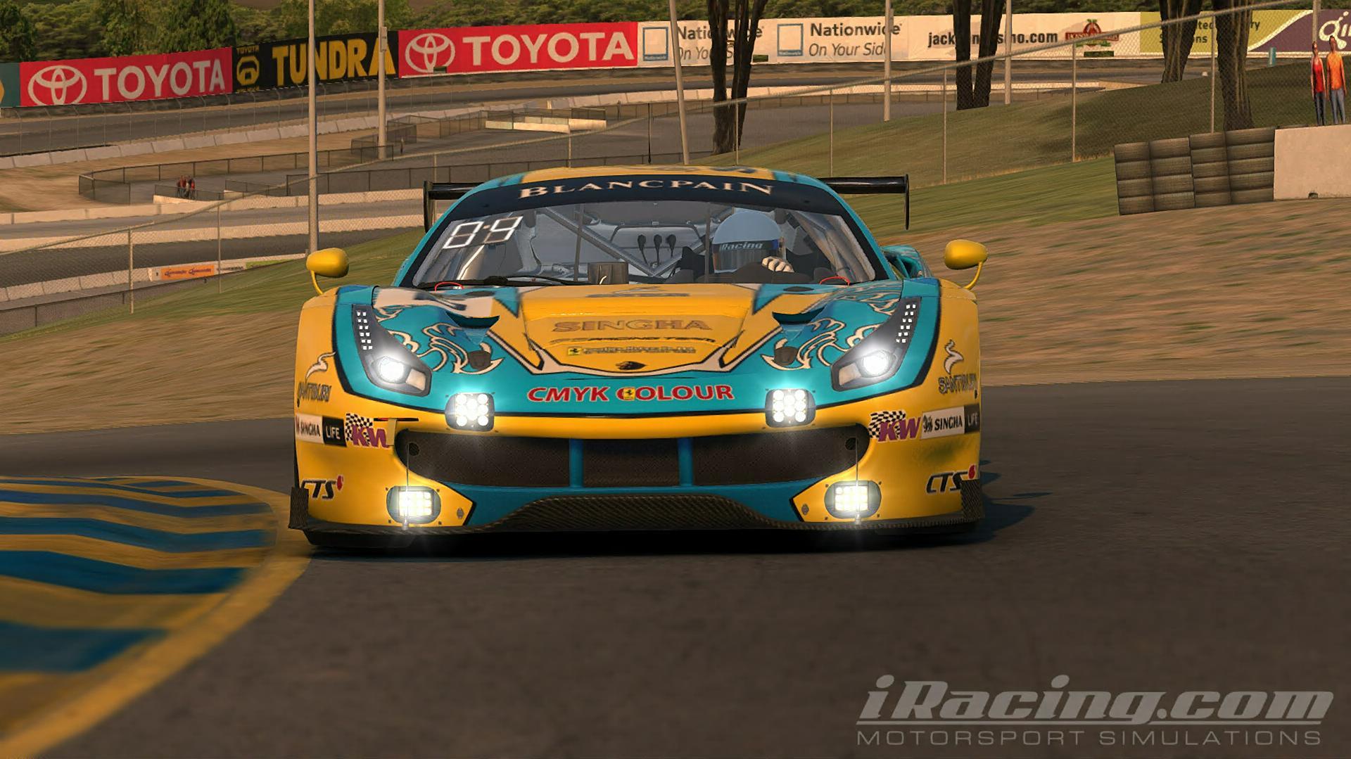 Preview of Singha Motorsports Ferrari 488 GT3 by Mathew Epstein