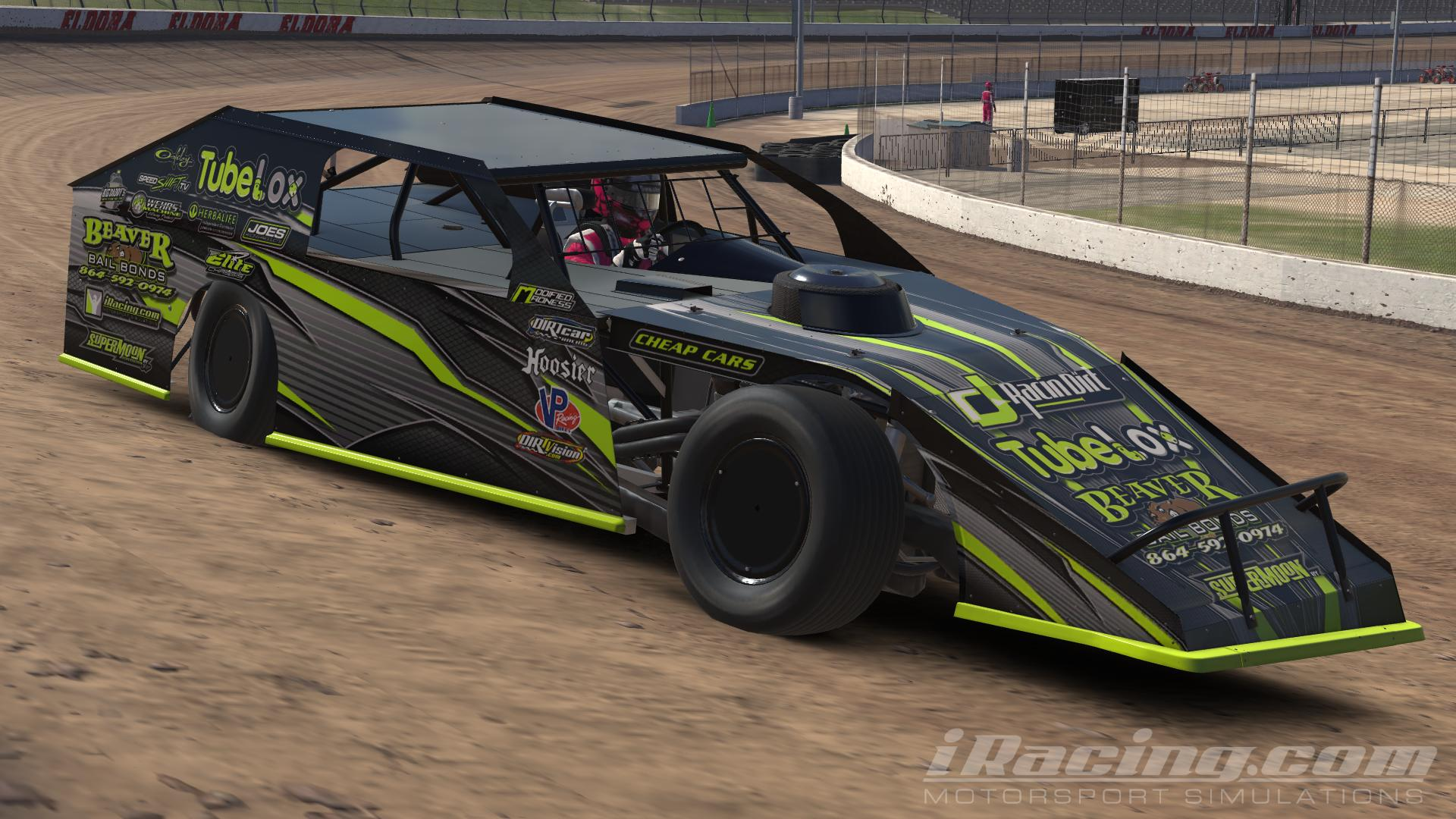 Preview of black yellow car 71245 by Jerry Hockett