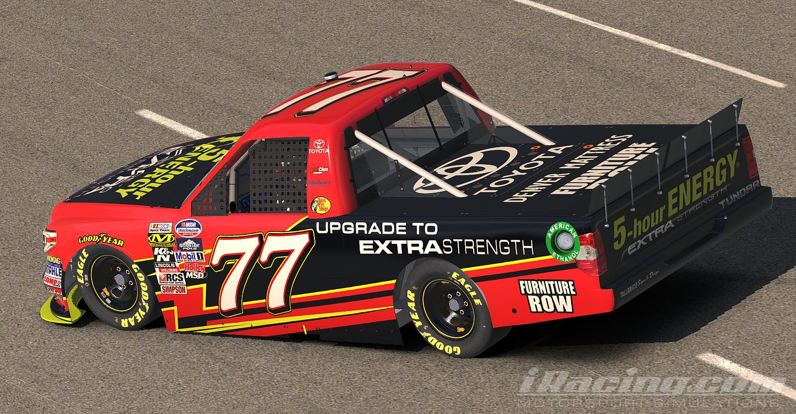 Preview of 5 Hour Energy Toyota Tundra by Tanner Tallarico