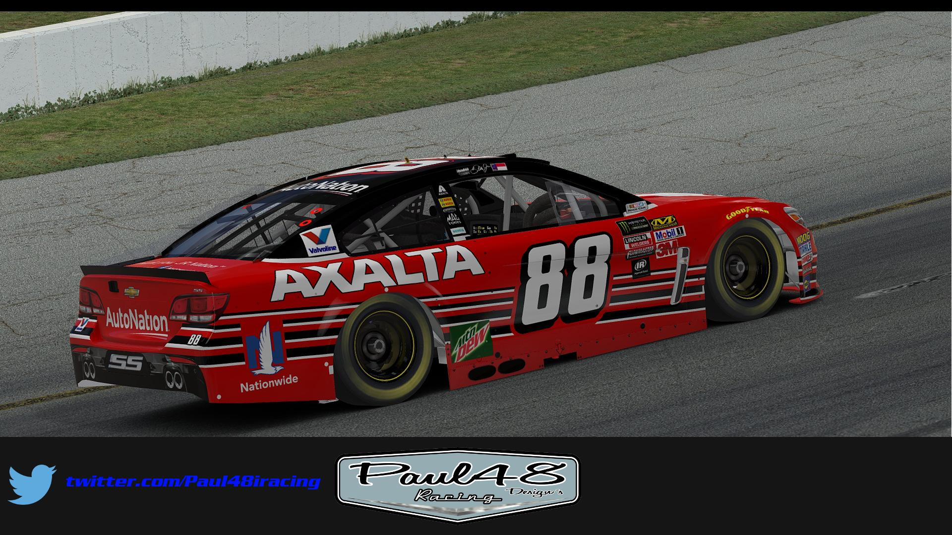 Preview of 2017 Dale Earnhardt Jr. Axalta Homestead by Thomas Sink