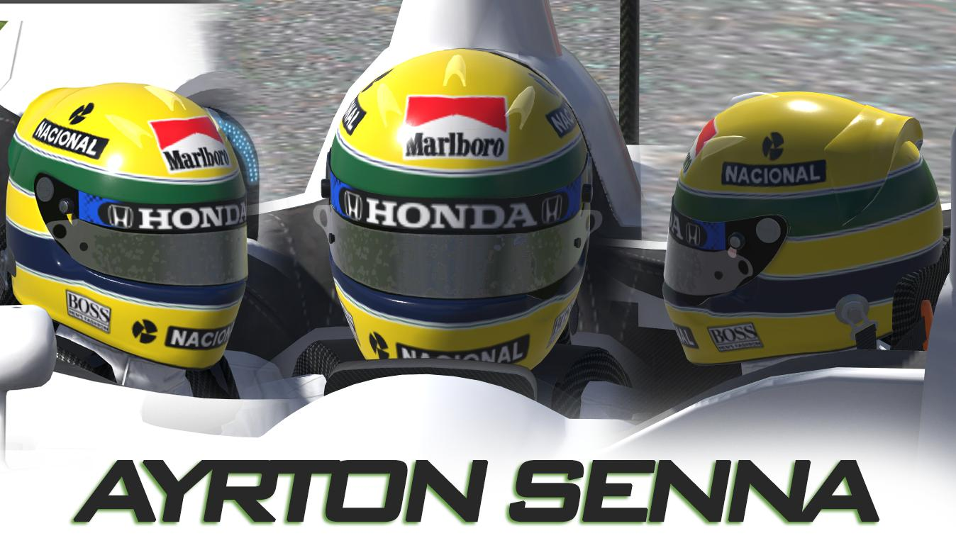 Preview of Ayrton Senna 1991 Helmet by Daniel R.