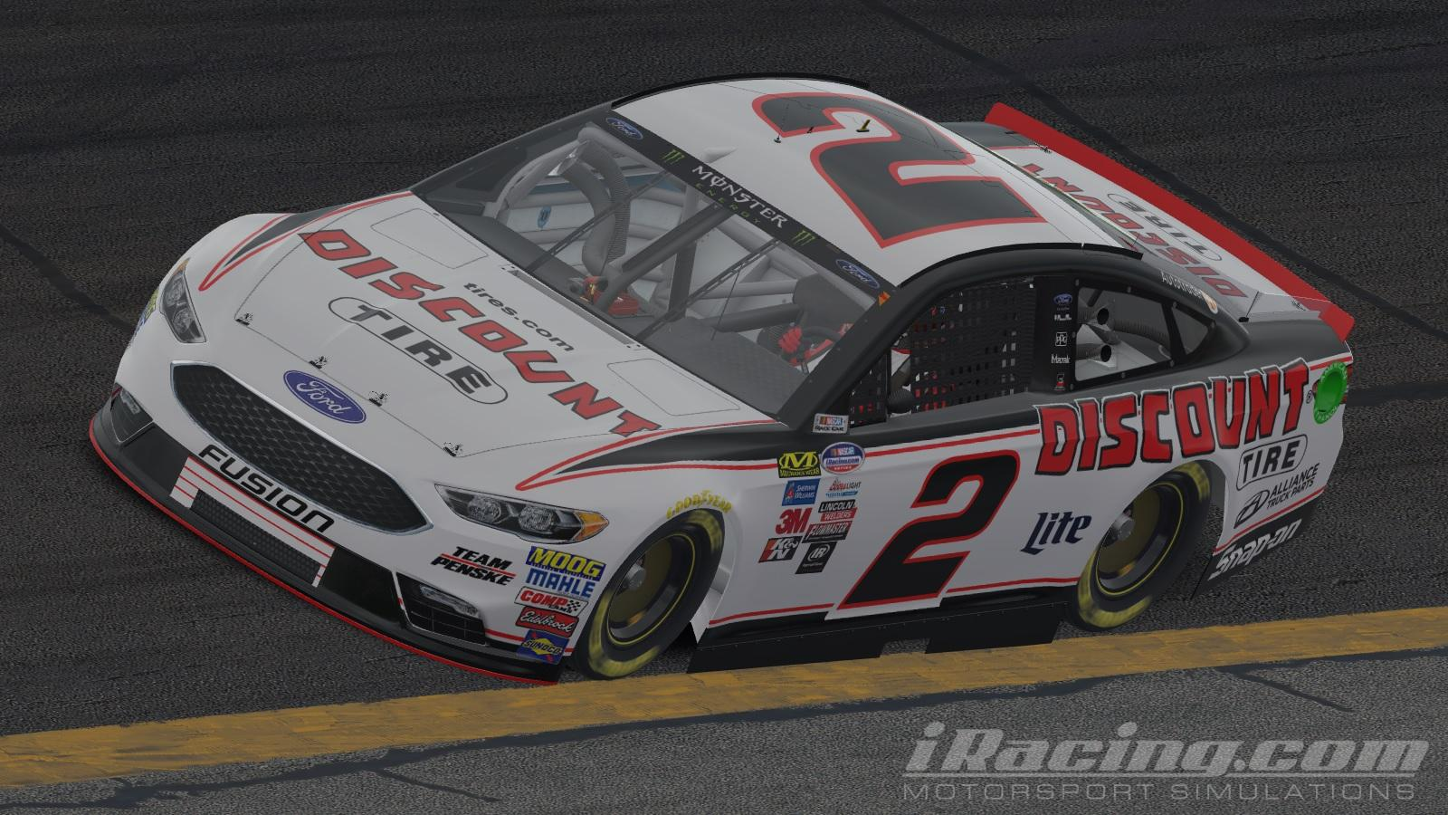 Preview of Brad Keselowski 2018 Discount Tire by Will Norton