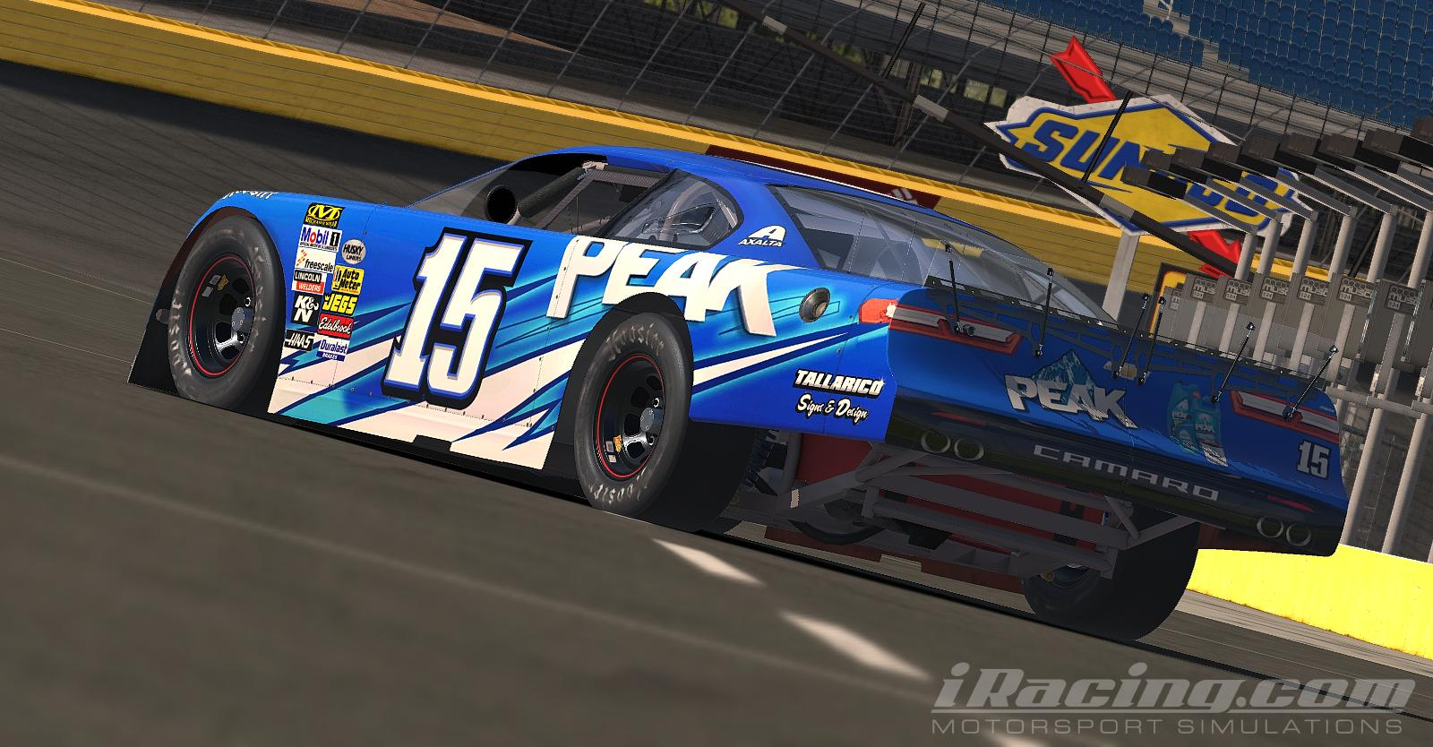 Preview of Peak Antifreeze Super Late Model by Tanner Tallarico