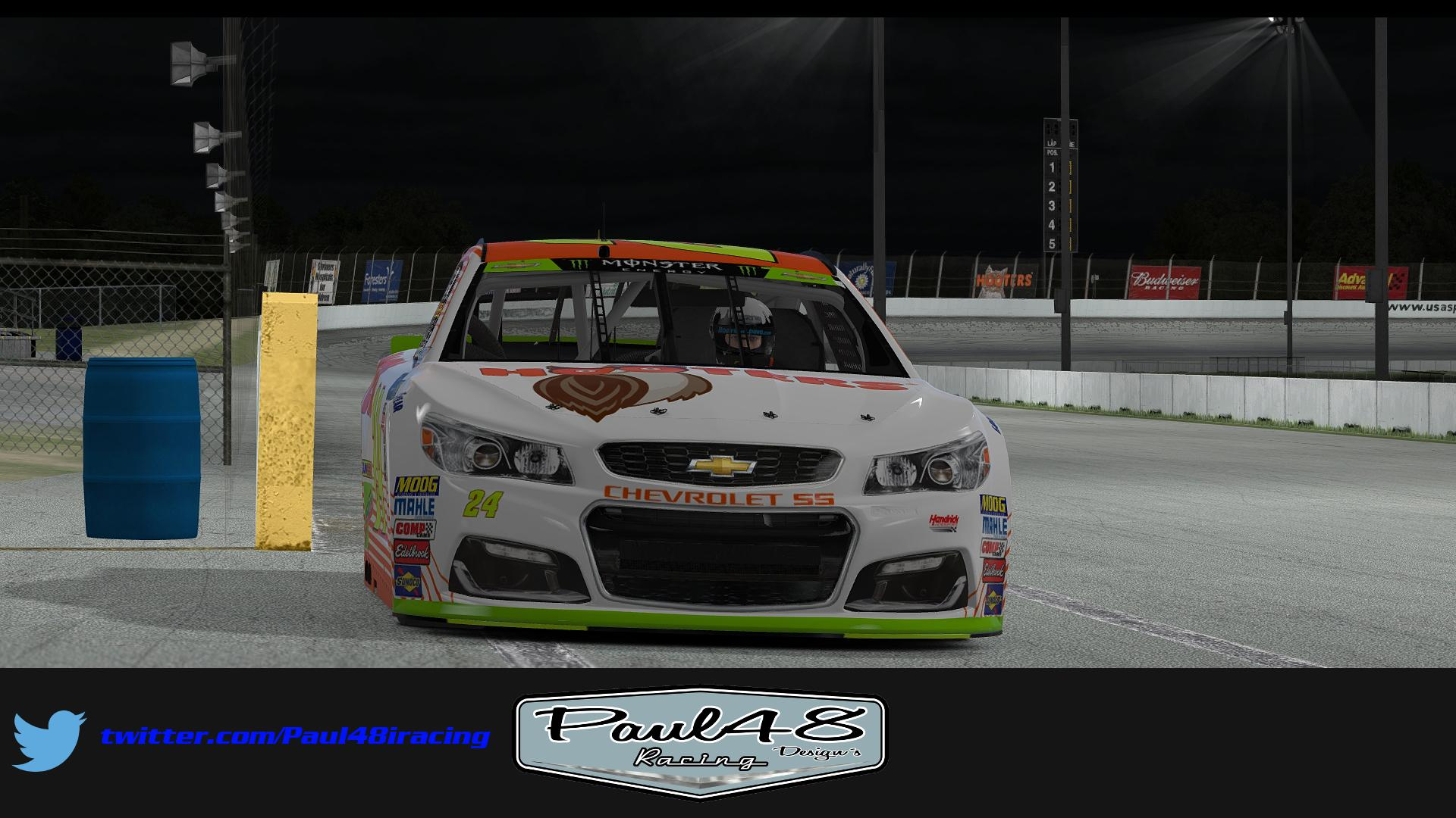 Preview of 2017 Chase Elliott Hooters by Thomas Sink