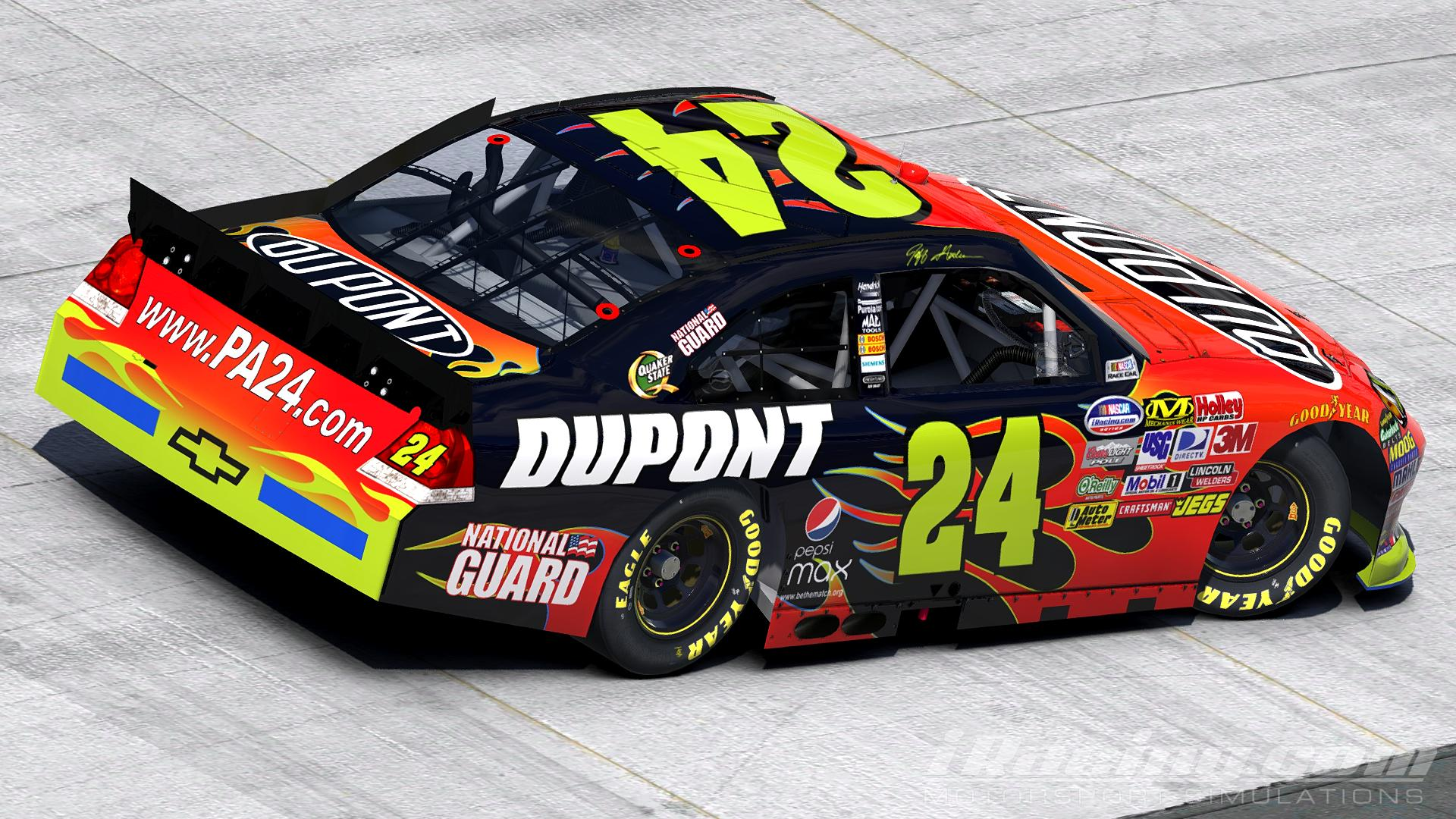 Preview of 2011 Jeff Gordon - DuPont Chevy Impala (CoT) by Justin Rowden
