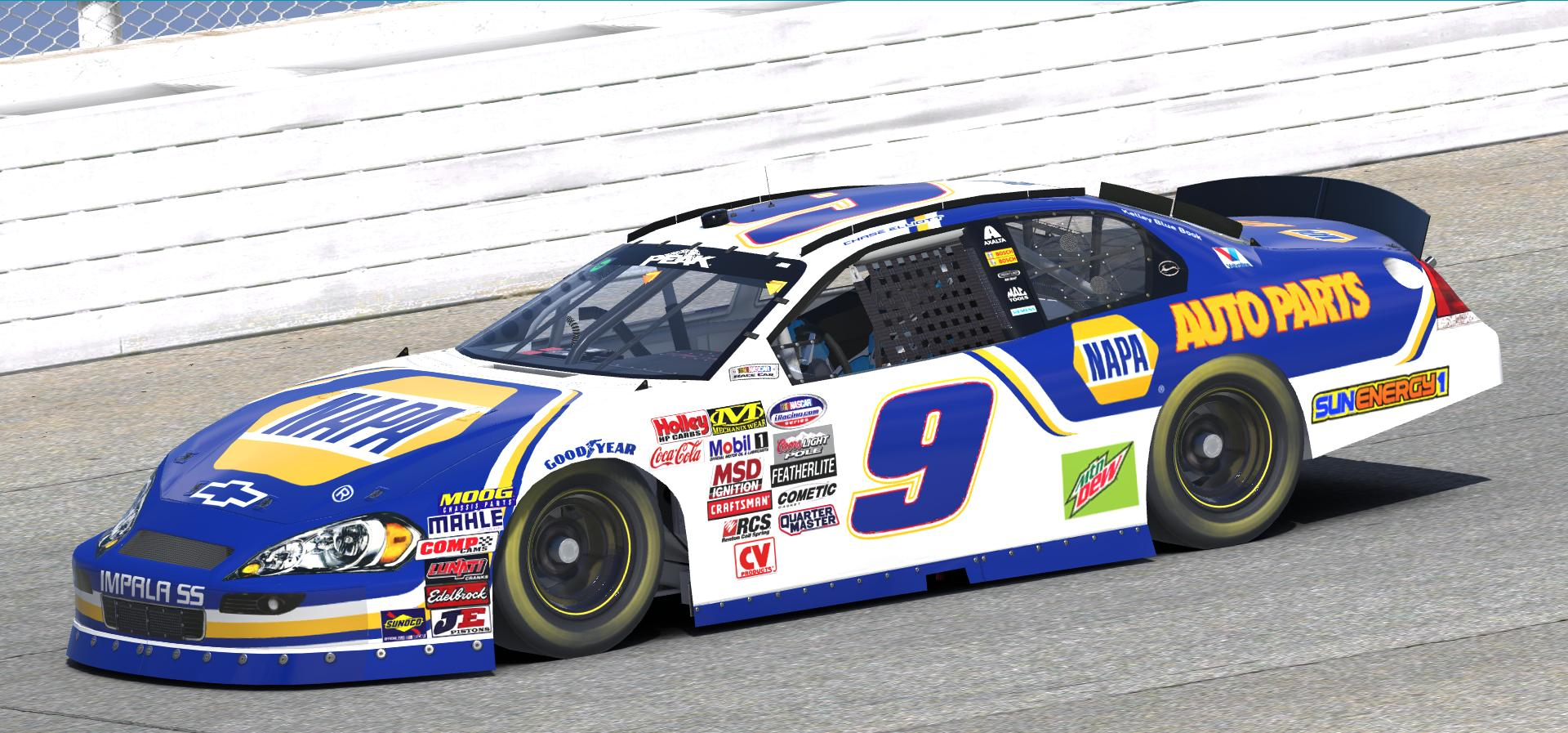 Preview of 2018 Chase Elliott Napa Auto Parts Impala by Doug DeNise