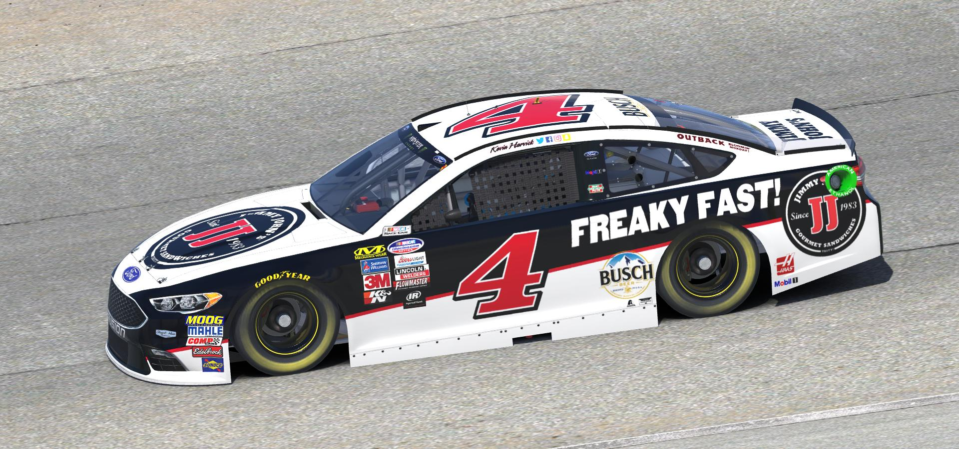 Preview of 2018 Kevin Harvick Jimmy Johns Ford Fusion by Doug DeNise