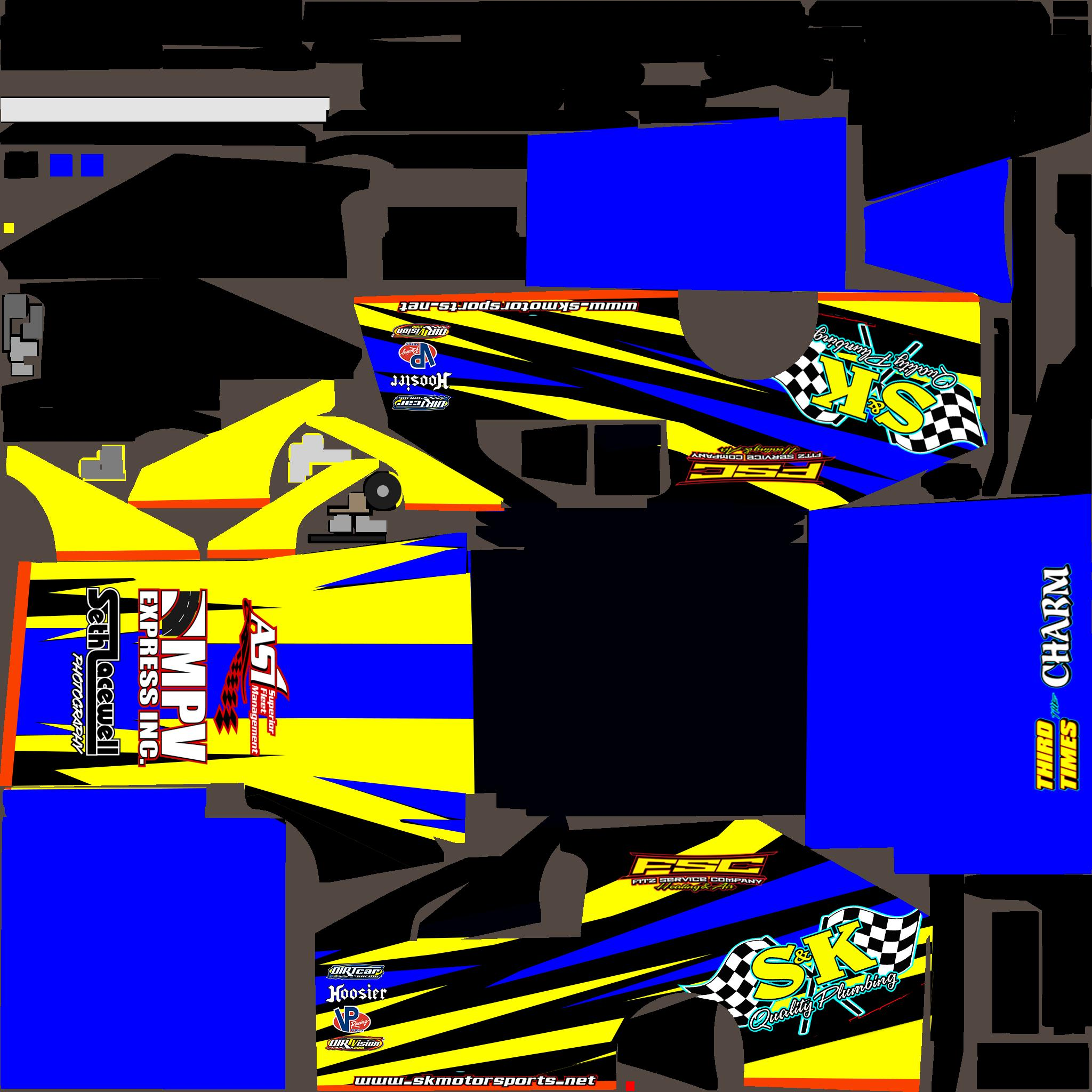 Dirt UMP Modified Gibbons by Michael Lacewell - Trading Paints