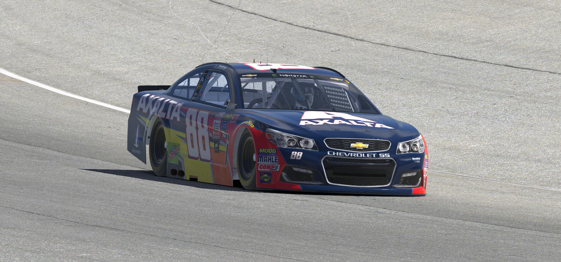 Preview of 2018 Alex Bowman Axalta Chevy by Doug DeNise