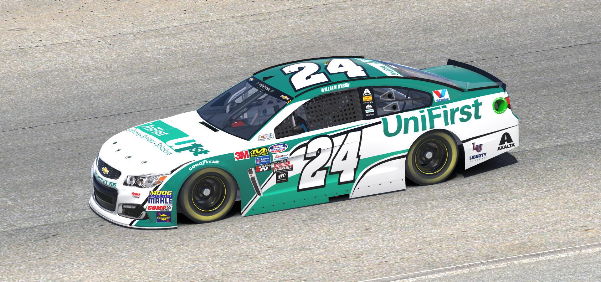 2018 William Byron UniFirst Chevy by Doug DeNise - Trading ...