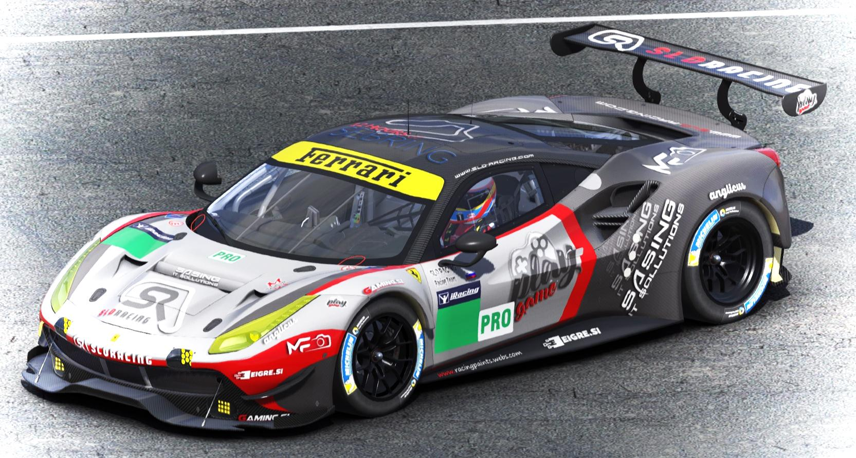 Preview of SLO-RACING Racing Team 488GTE by Mitja M.