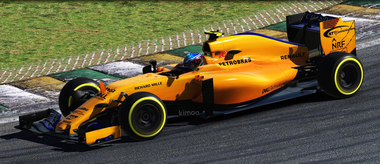 Preview of MP4 30 Mclaren MCL 33 2018 by Simon H.
