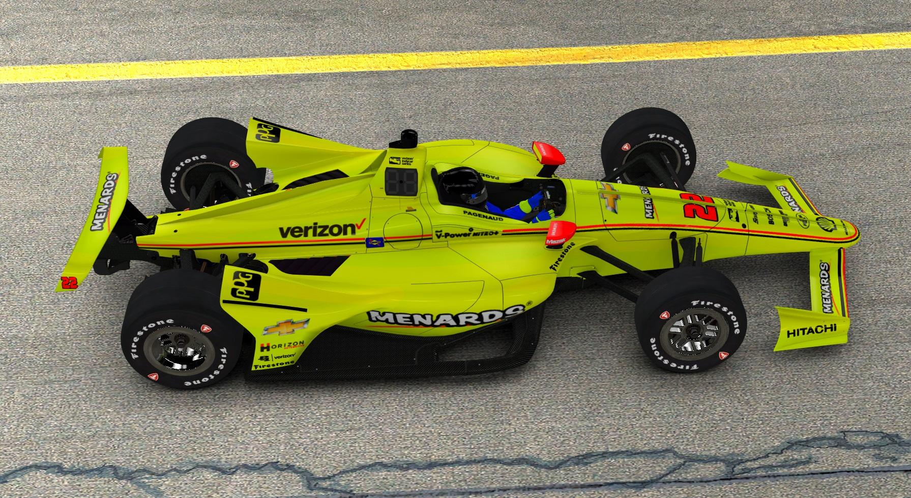 Preview of 2018 Menards Pagenaud by John Paquin