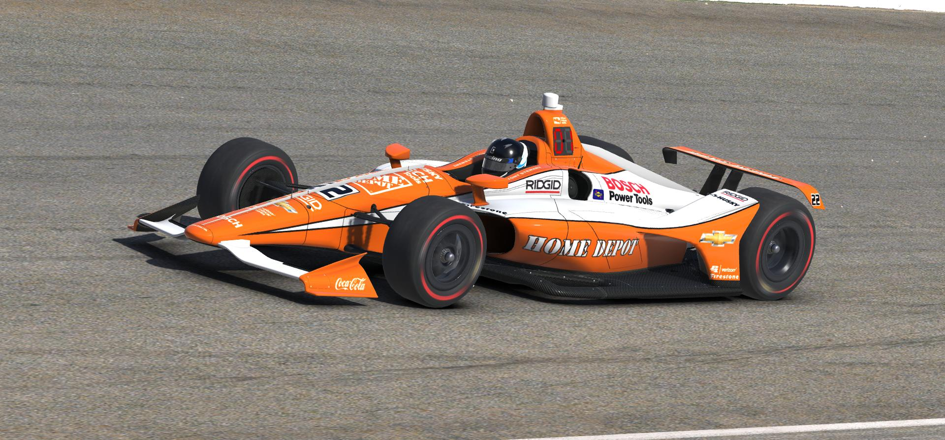 Preview of Tony Stewart 1999 Home Depot Indy 500 Car by Doug DeNise