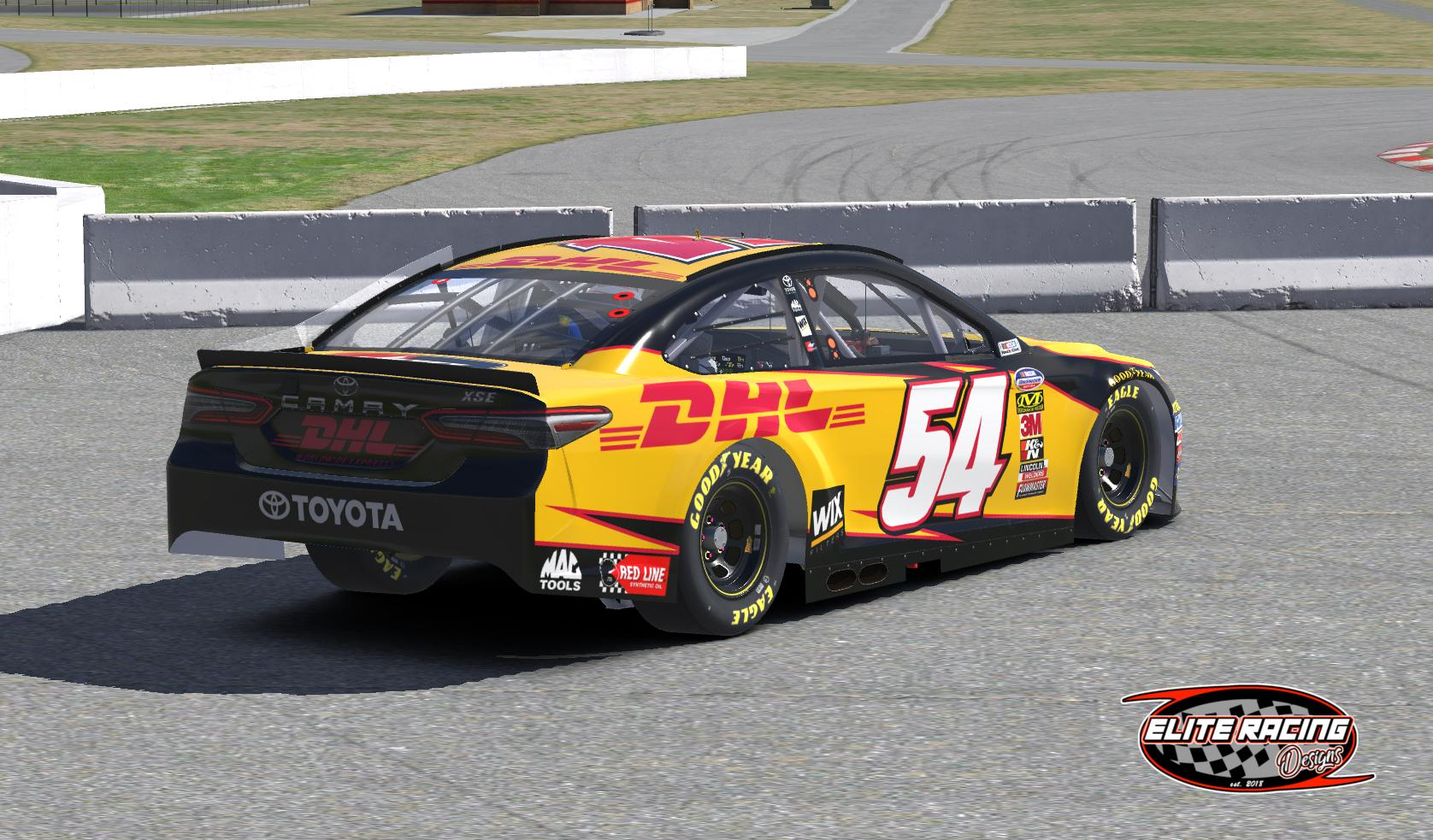 Dhl Toyota Camry Kalitta Funny Car Inspired By Erik Le Trading