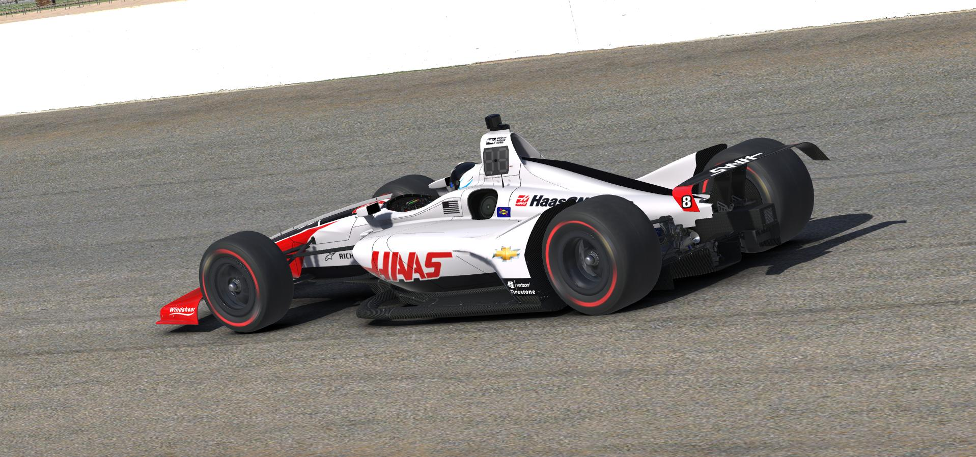 Preview of 2018 Haas F1 Indycar by Doug DeNise