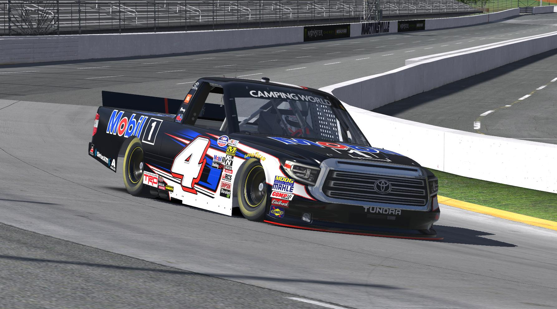 Preview of Todd Gilliland 2018 Mobil 1 (Martinsville) by Erik Le