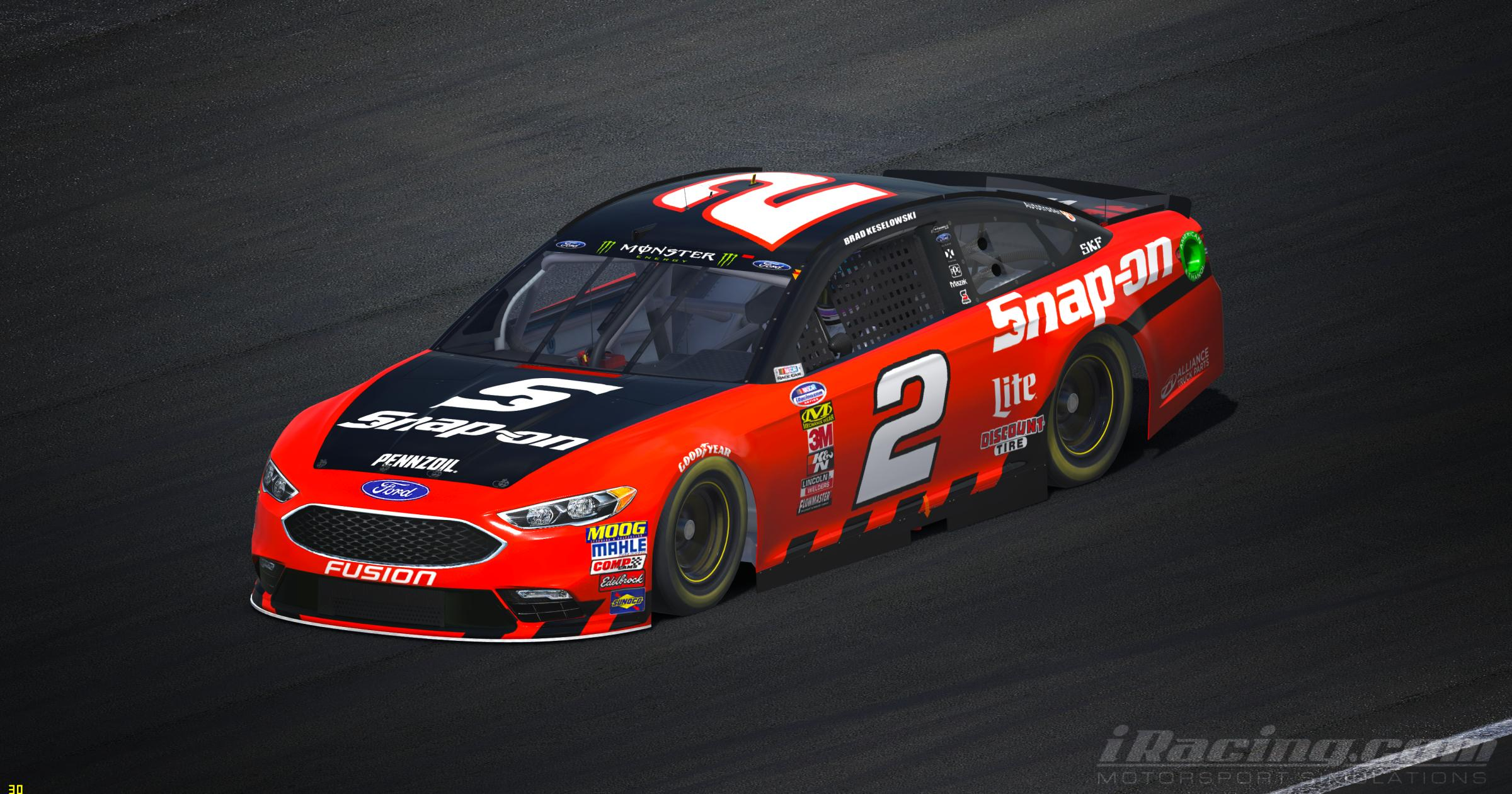 Preview of Brad Keselowski 2018 Snap On by Tyler King