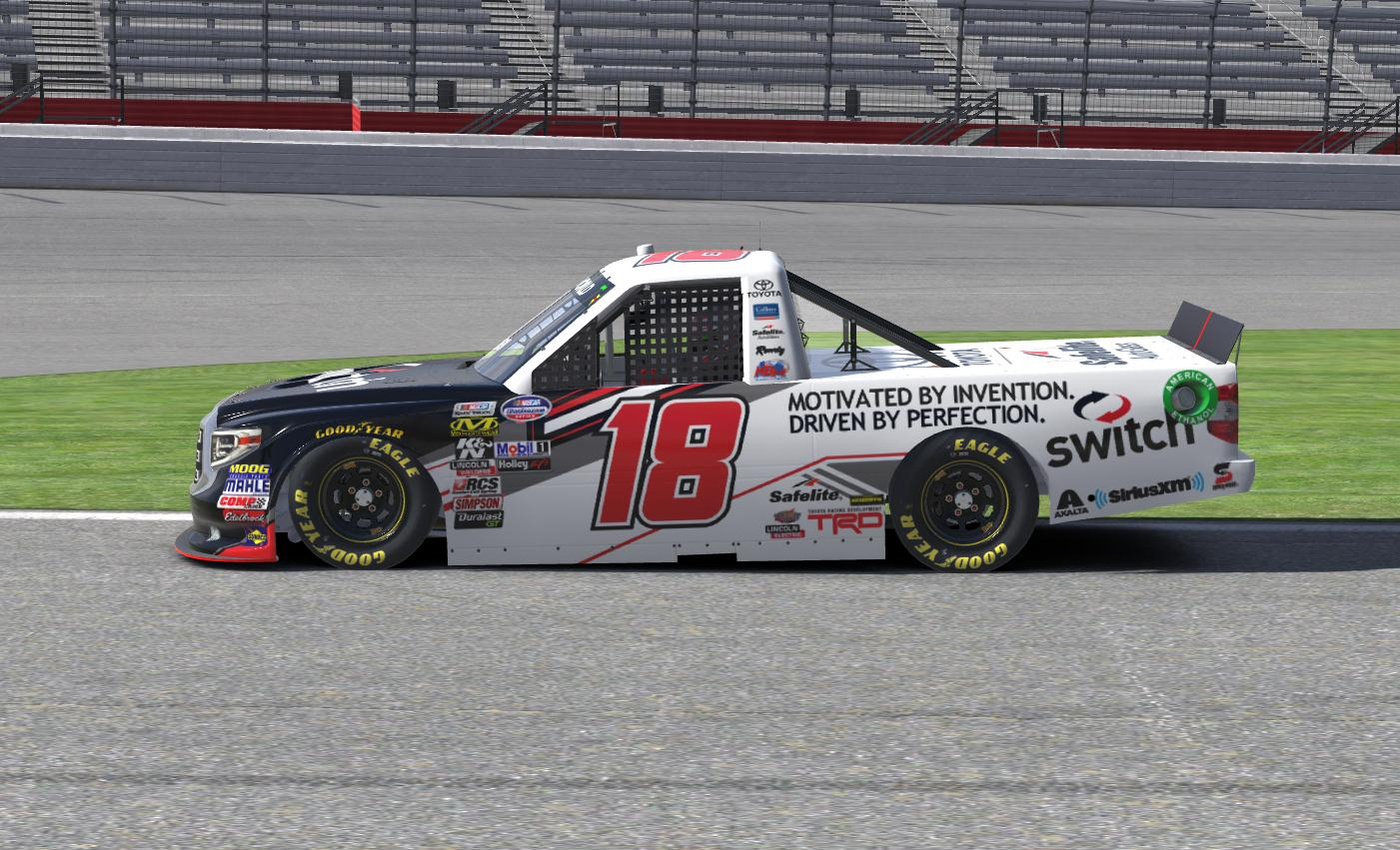 Preview of Switch Toyota Tundra (Noah Gragson Xfinity 2018) by Erik Le