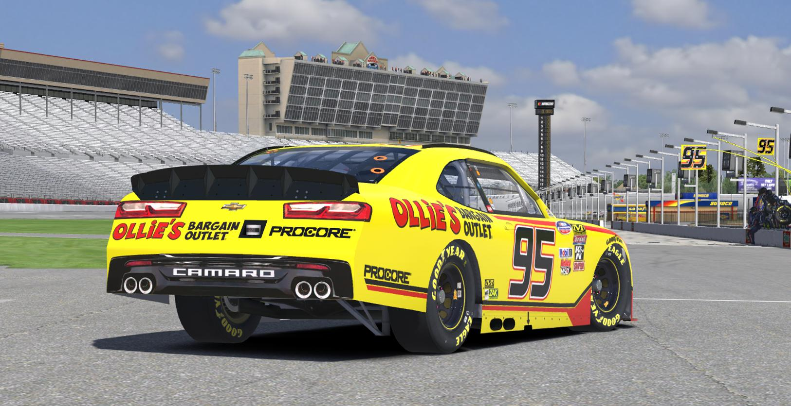 Preview of Kasey Kahne Ollies Bargan Outlet 2018 (Xfinity Adaption) by Erik Le