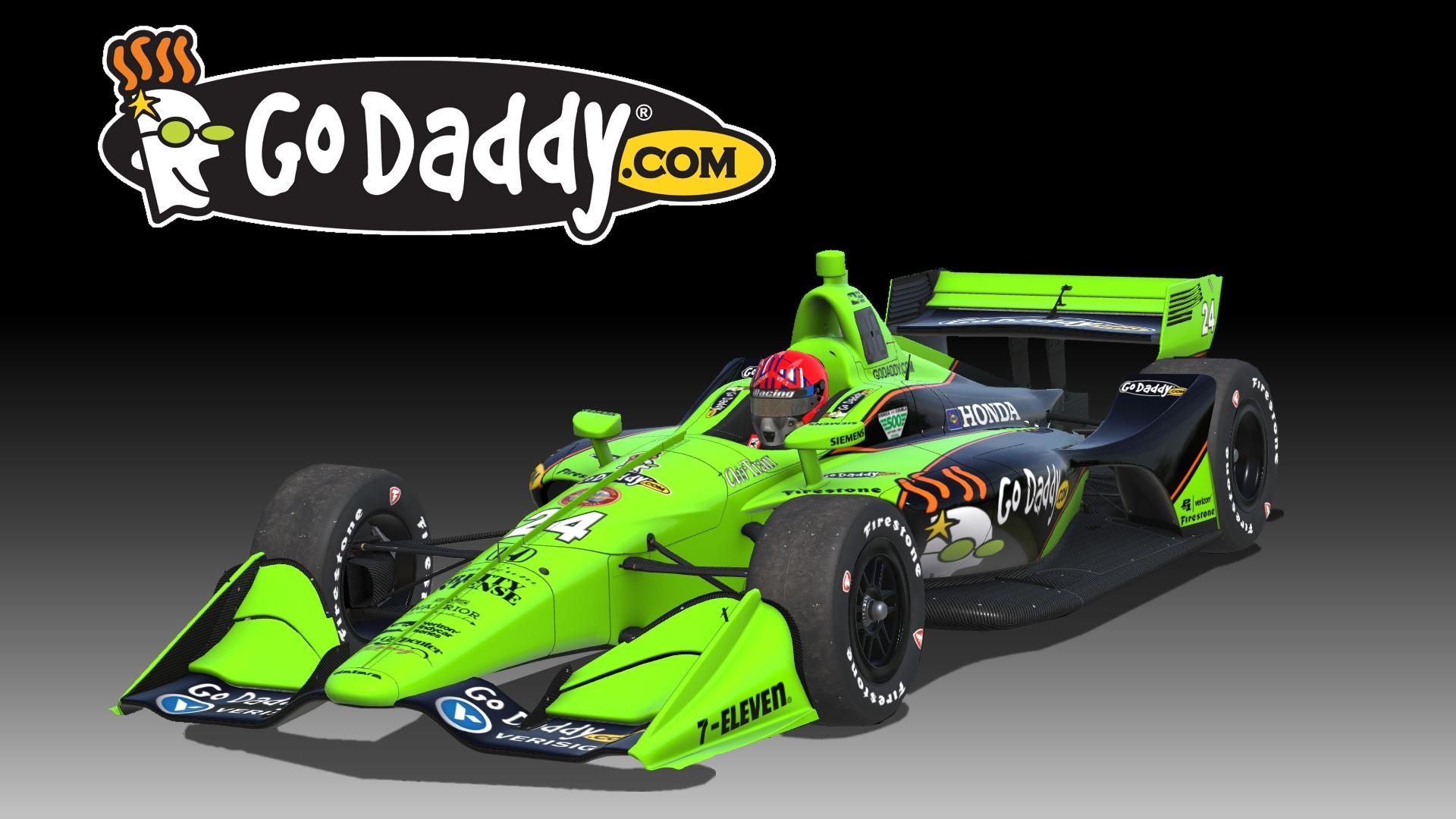 Preview of GoDaddy Dallara IR18 by Don Craig