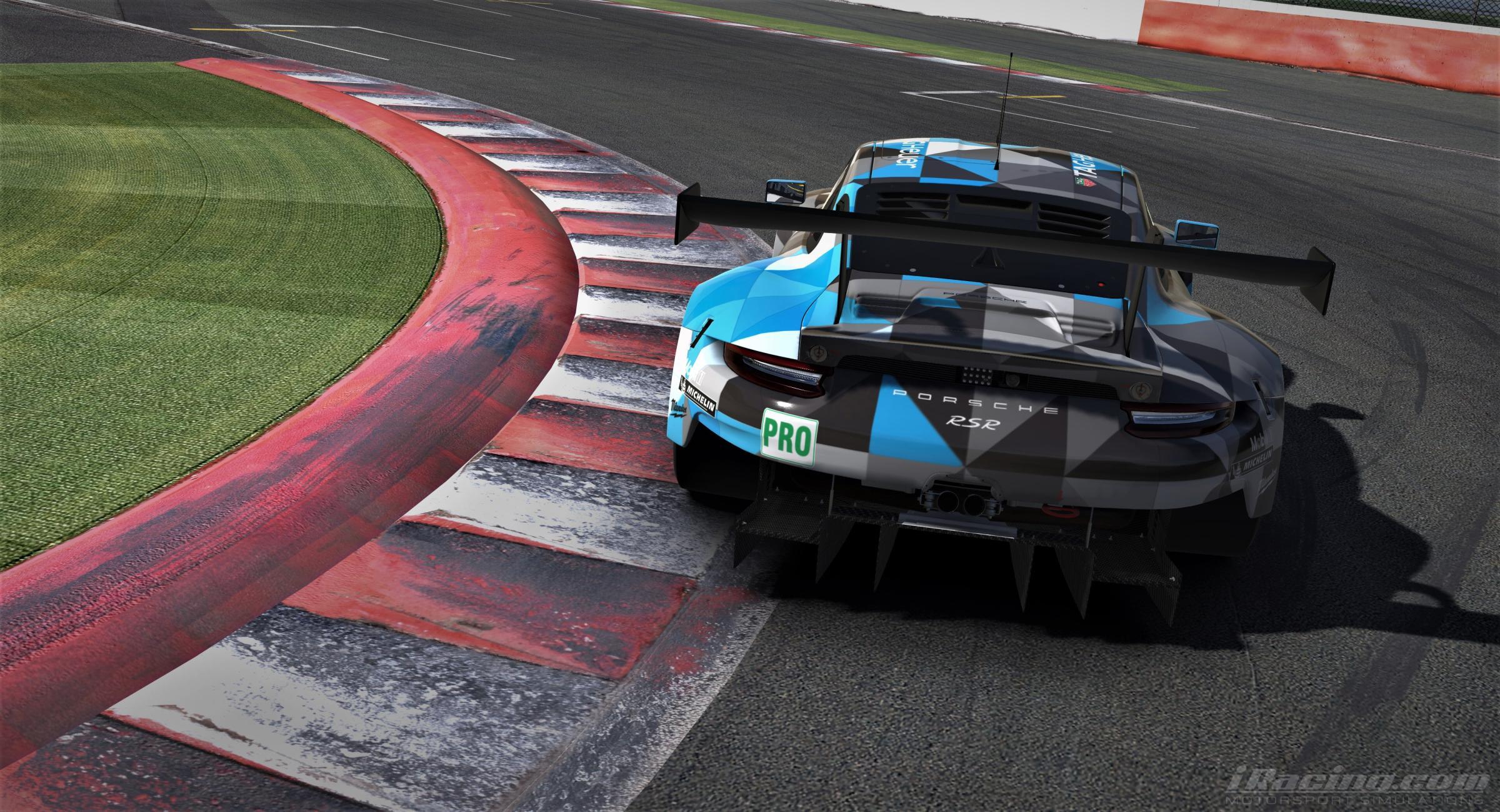 Preview of DEMPSEY PROTON RACING PORSCHE 911 RSR BLUE by Yuji Asakawa