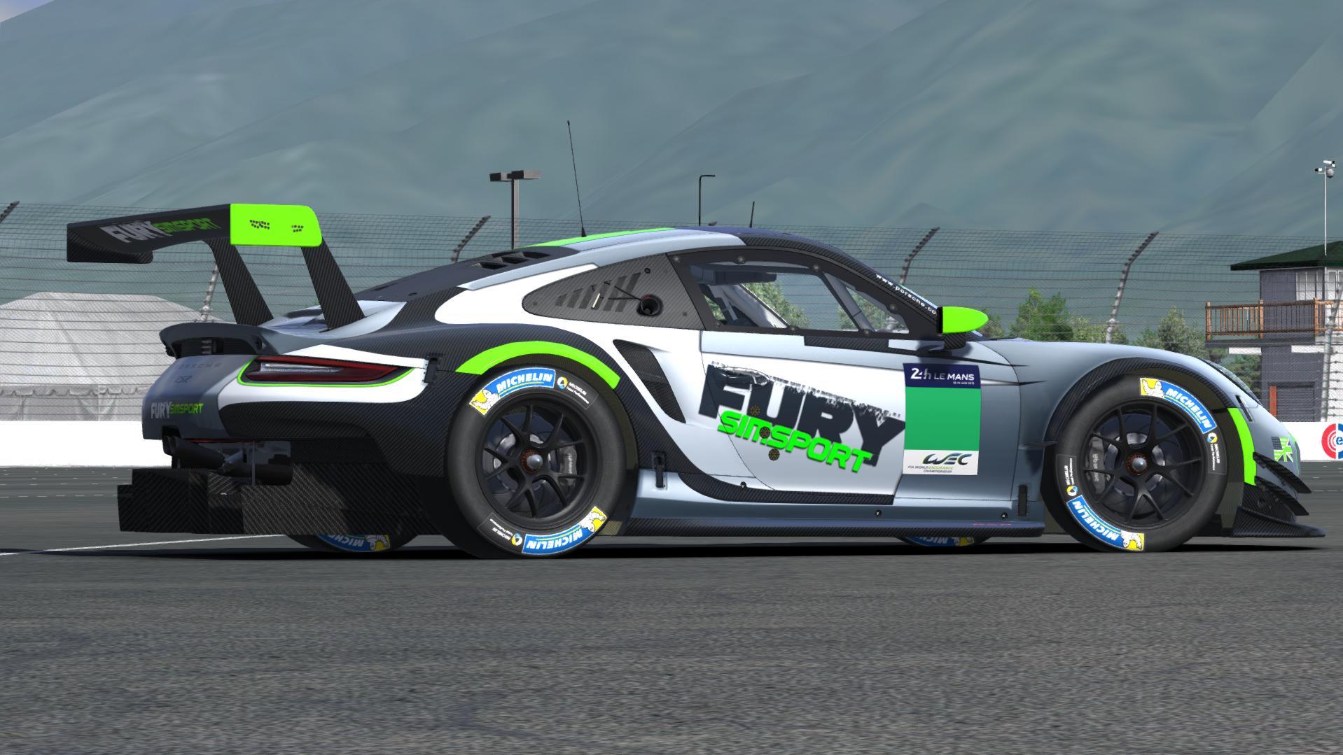 Preview of FURY Simsport Porsche 911 RSR (test) by Justin S Davis