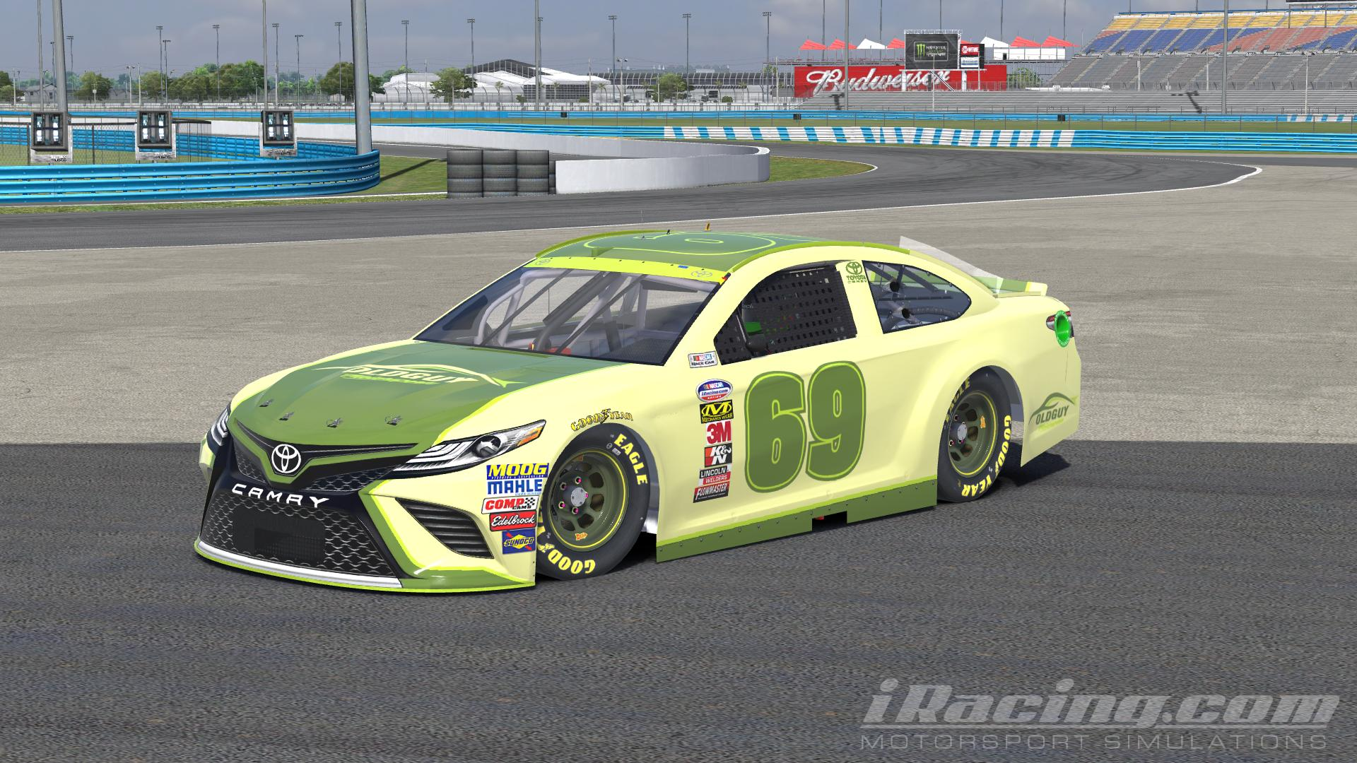 Preview Of Toyota Camry Gen 6 Ogm By Jerry Ott