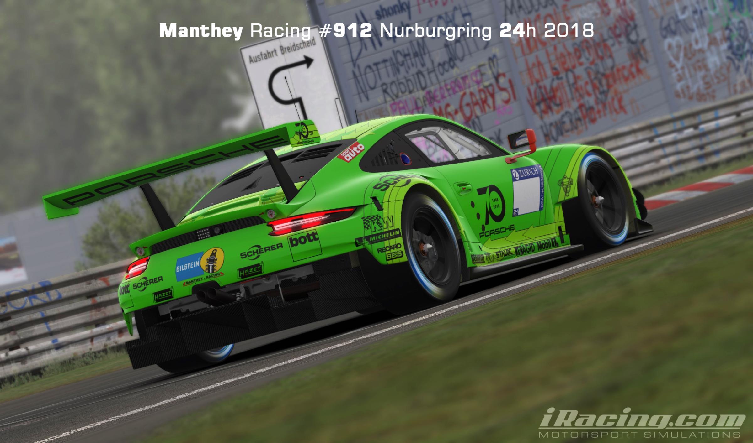 Preview of Manthey Racing #912 Nurburgring 24h 2018 by Yuji Asakawa