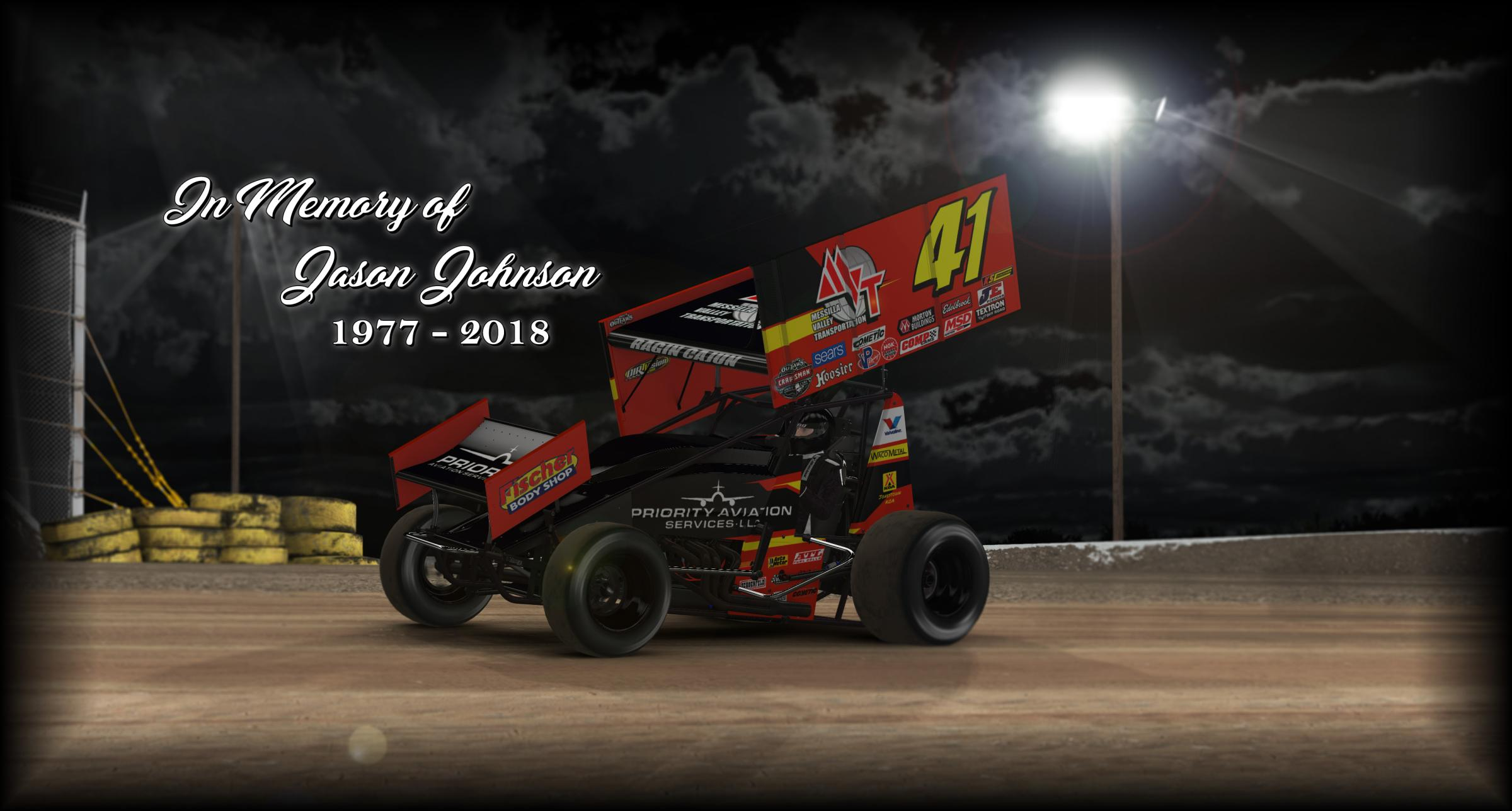 Preview of Jason Johnson Dirt Sprint by Cameron Coulby