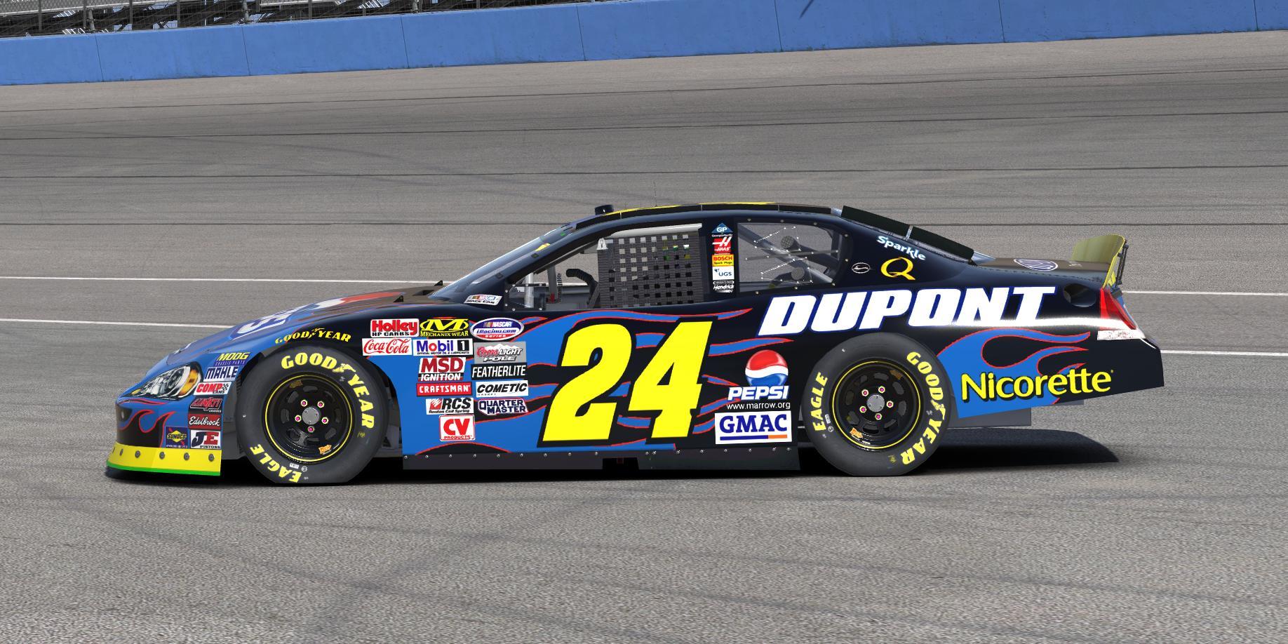 Preview of Jeff Gordon Pepsi/DuPont (July Daytona 2007) by Erik Le