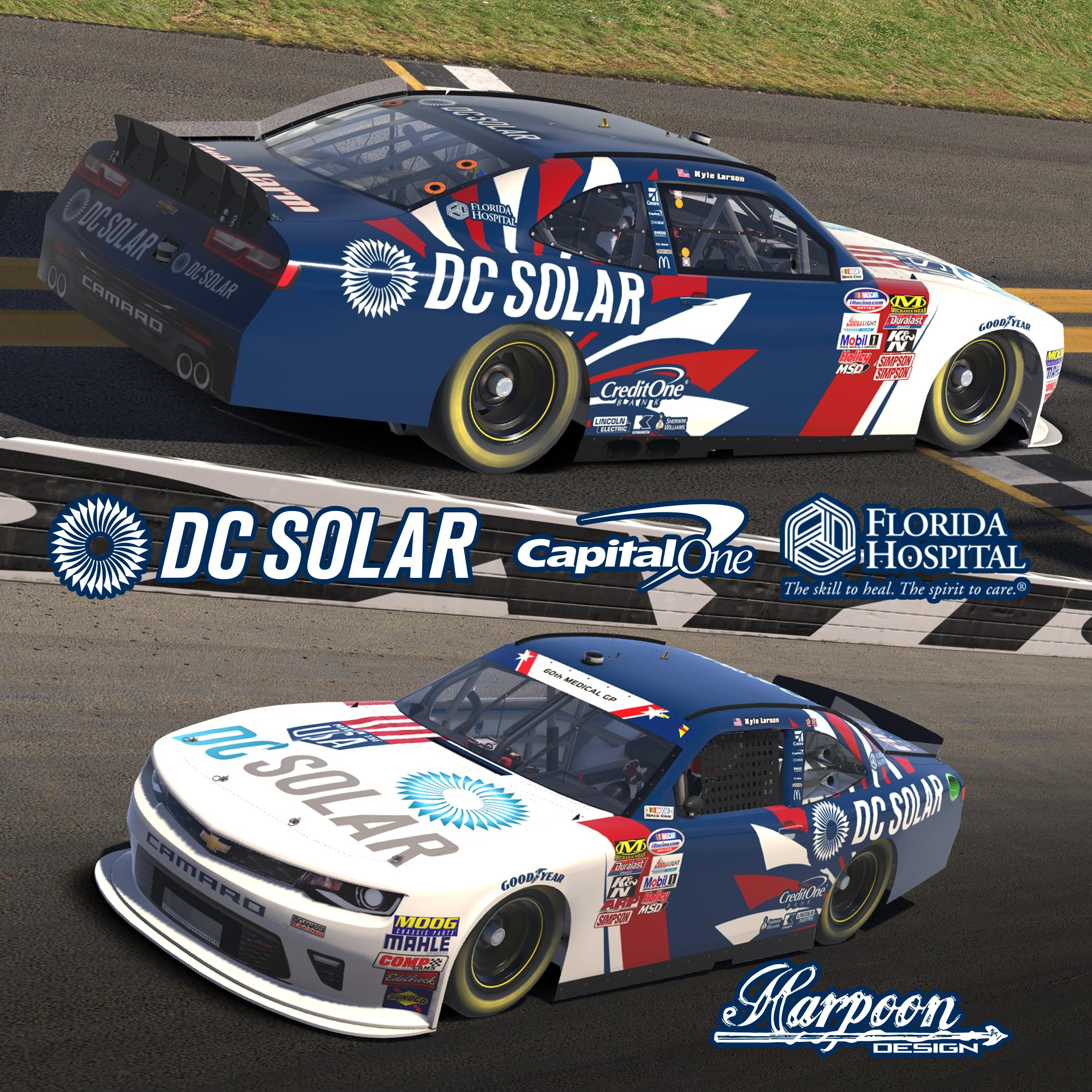 Preview of 2018 Kyle Larson DC Solar USA *WINNER* by Brantley Roden