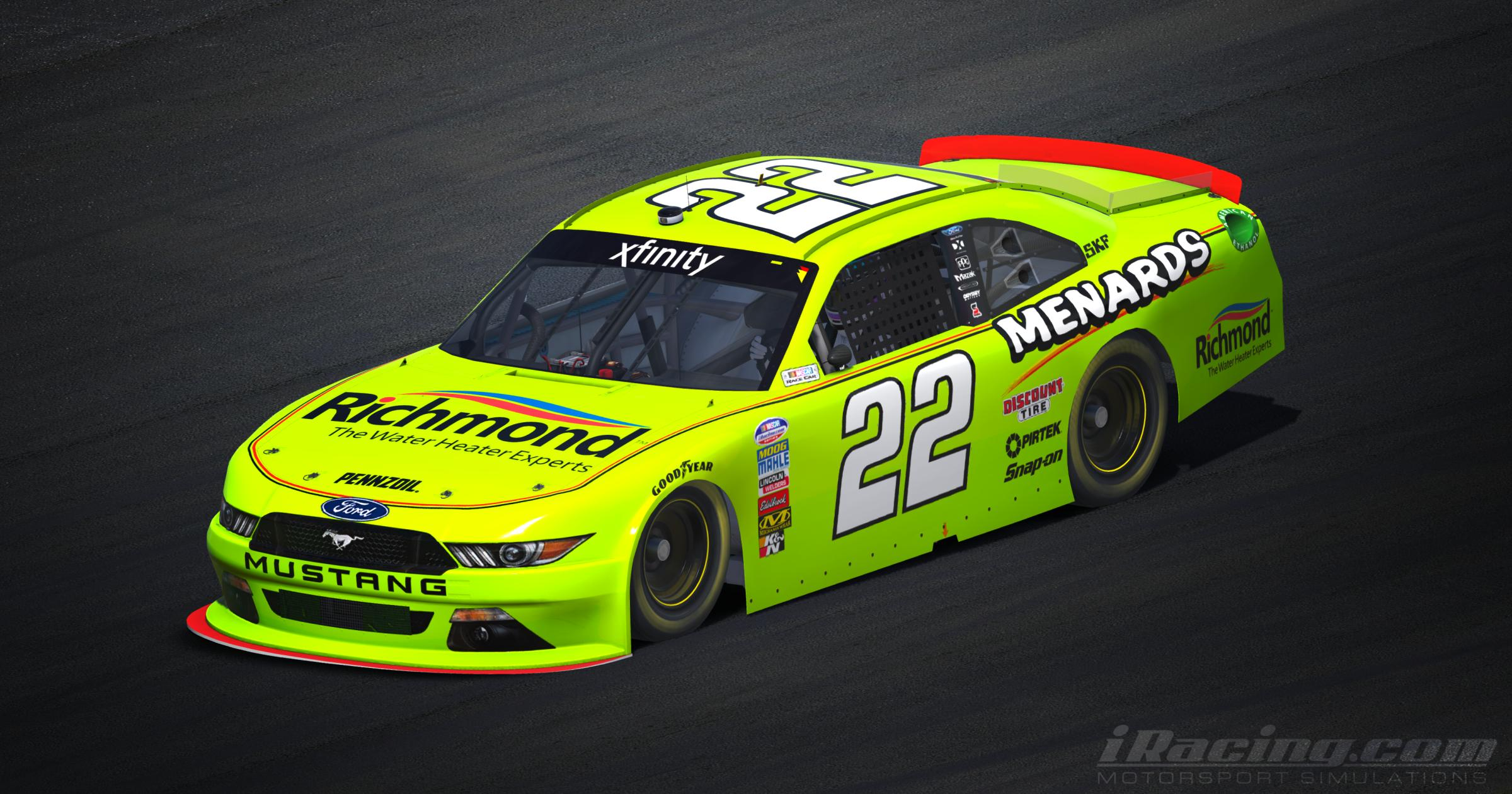 Preview of Team Penske 2018 Richmond Menards by Tyler King