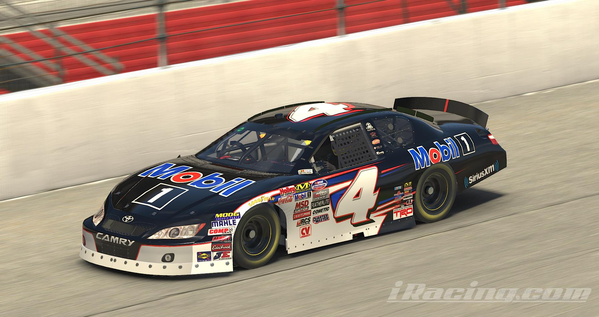 Preview of Mobil 1 K&N Toyota Camry (Todd Gilliland Inspired) by Erik Le